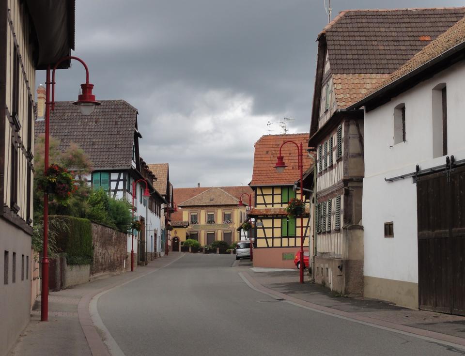 Pfulgriesheim Stadt in Frankreich