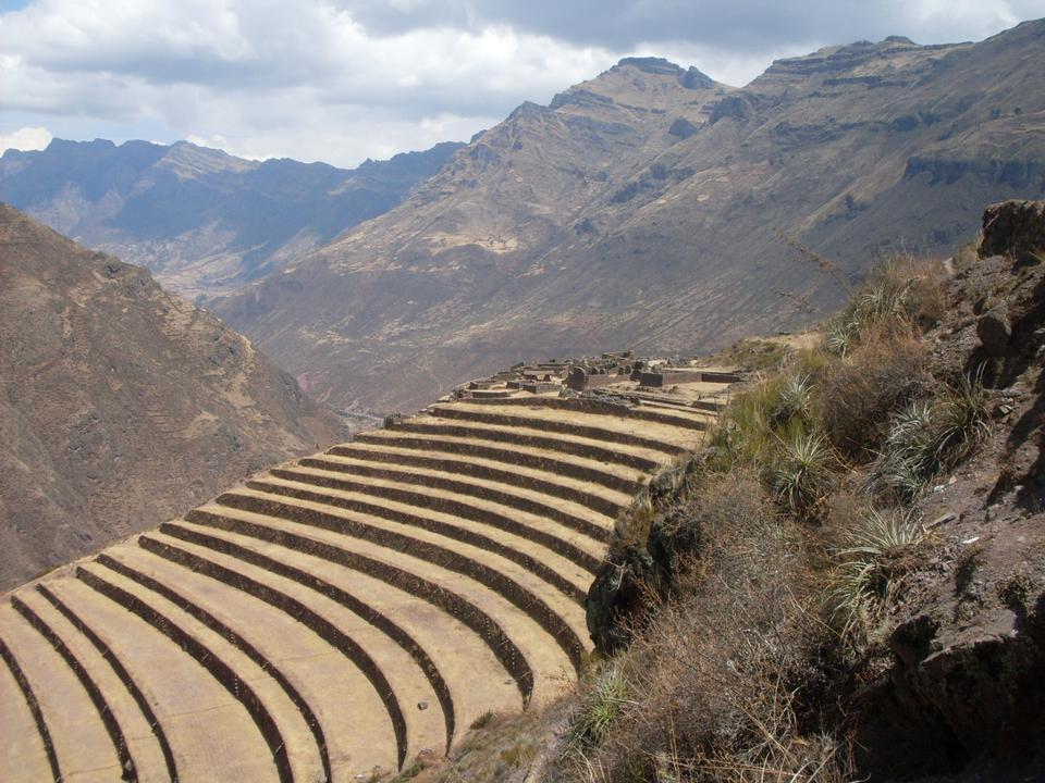 Vallée Sacrée, Pisac, Pérou, la rivière Urubamba, Amérique du Sud