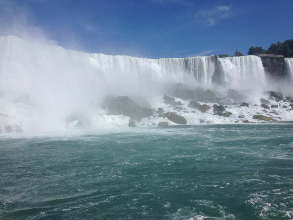 American Falls und Regenbogen, Niagara