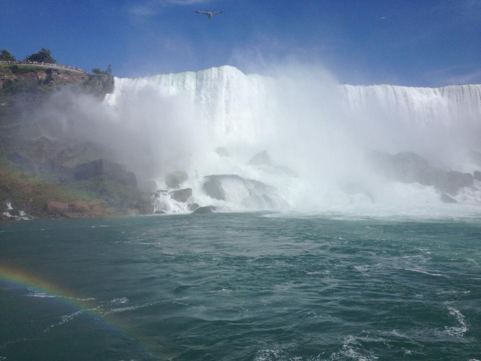 American Falls and rainbow, Niagara