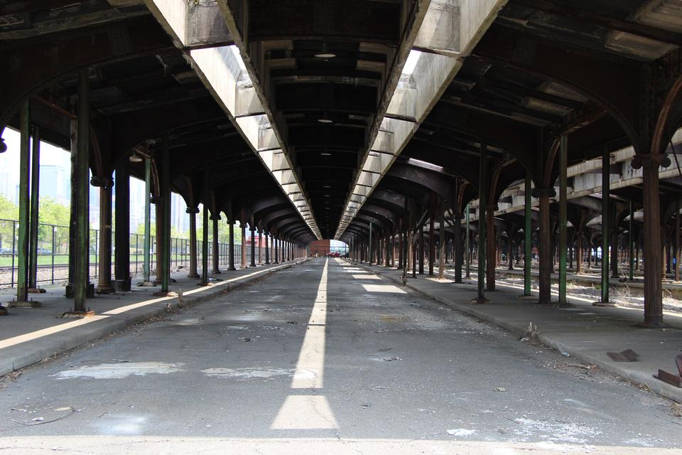 The Abandoned Rail Station at Liberty State Park