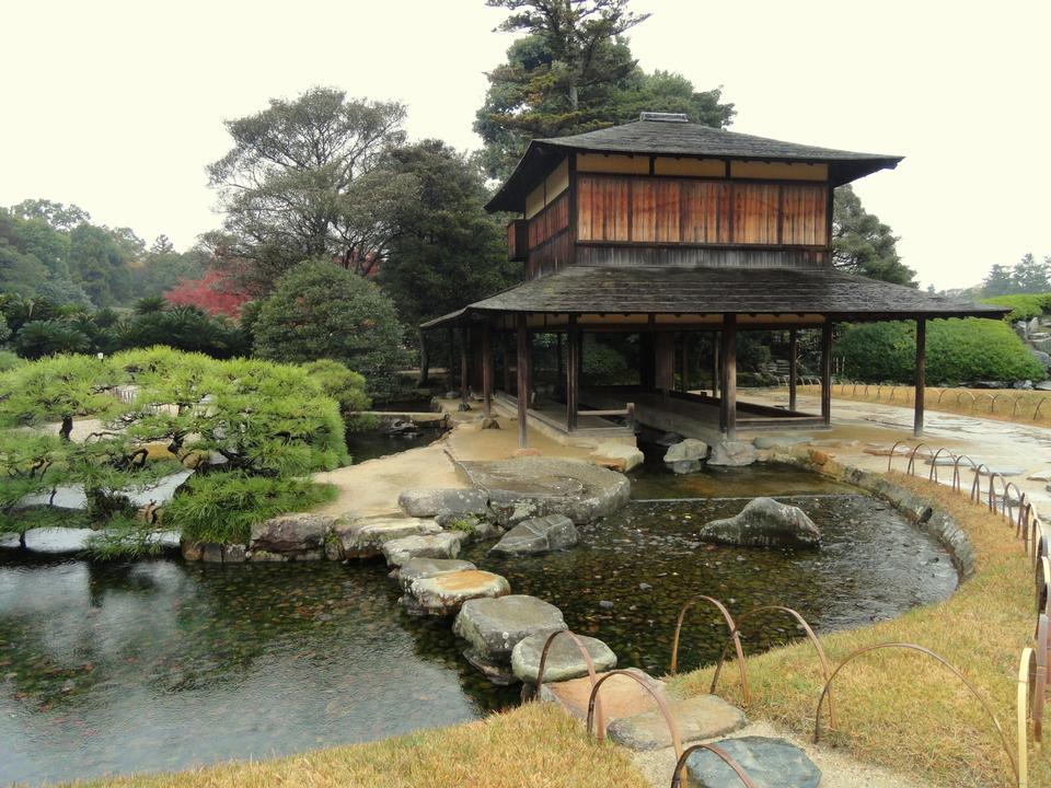 Ryuten Pavilion, Korakuen Garden, Okayama