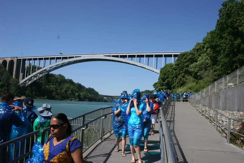 Maid of the Mist boat tour in Niagara Falls