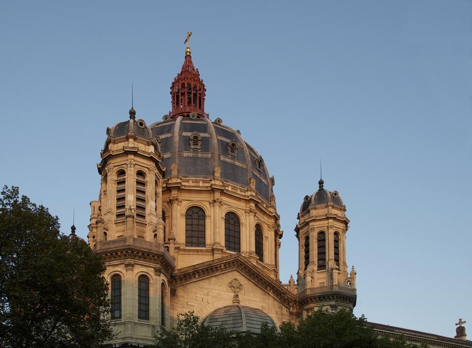 Eglise de Saint-Augustin à Paris - France