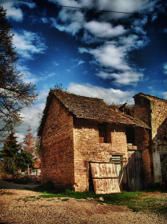 老粮仓毁了法国