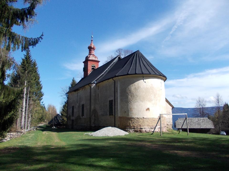 スロベニアロヨラ教会の聖イグナチオ