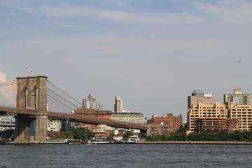 Descarga gratis la imagen de alta resolución - Puente de Brooklyn y el Bajo Manhattan