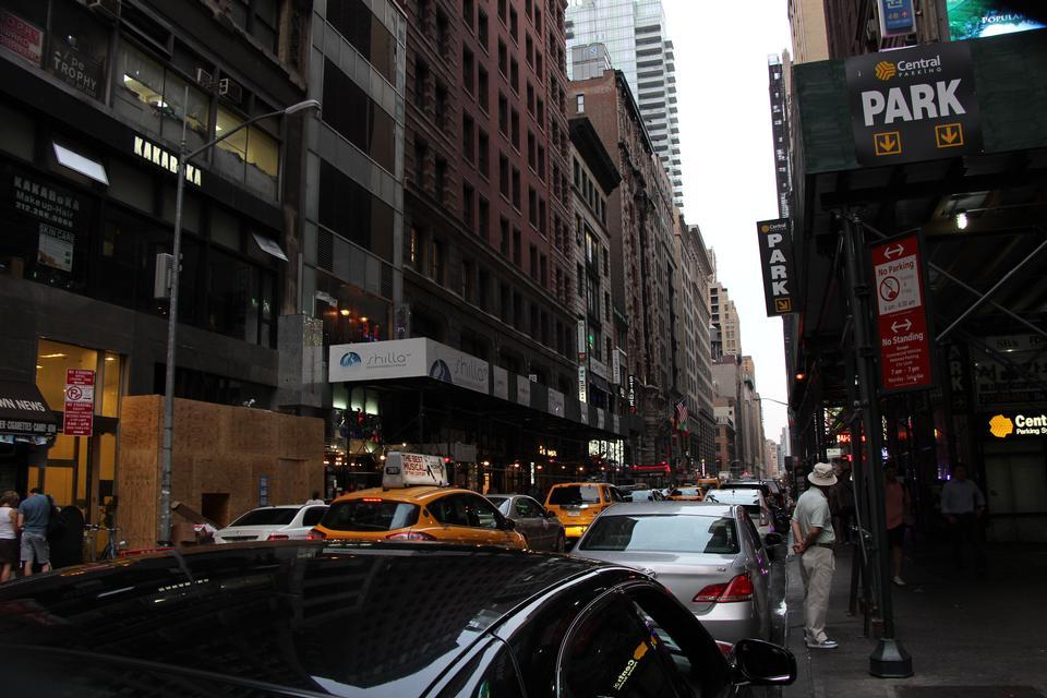 韓國方式的角落,在紐約