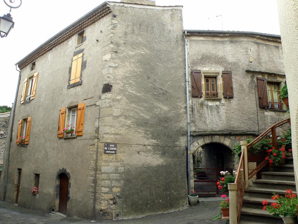 街道圣萨蒂南,多姆山,法国