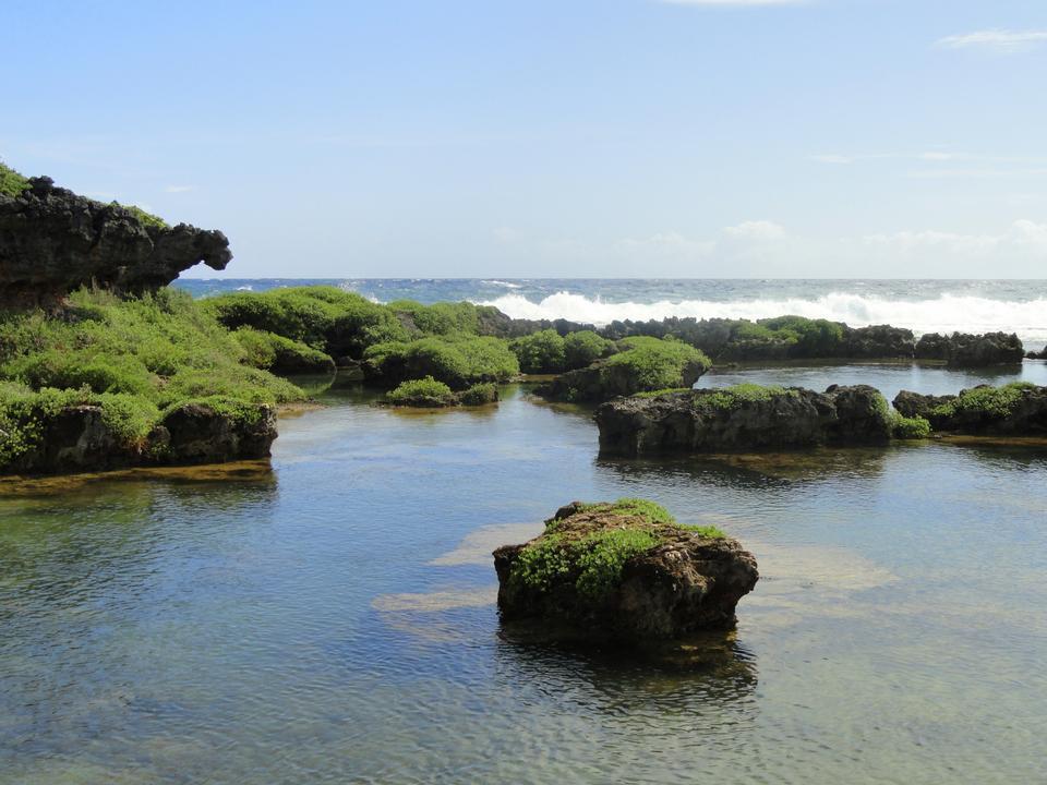 Inarahan natural pool Guam