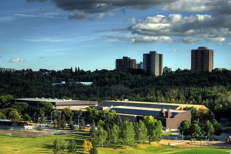 The Kinsmen Sports Centre in Edmonton, Alberta