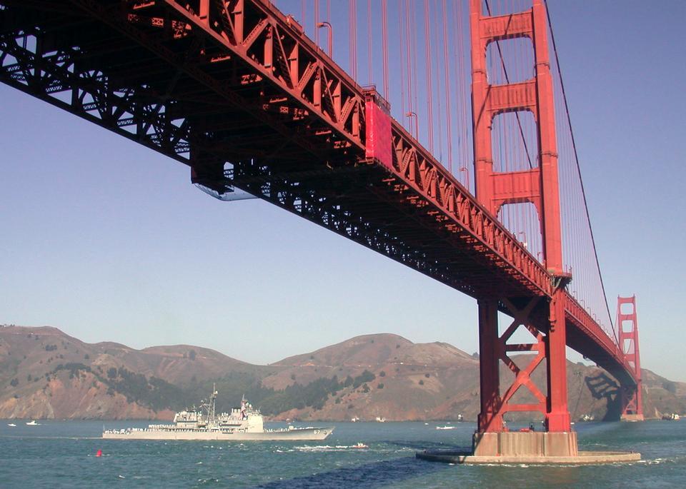 USS希洛抵達舊金山