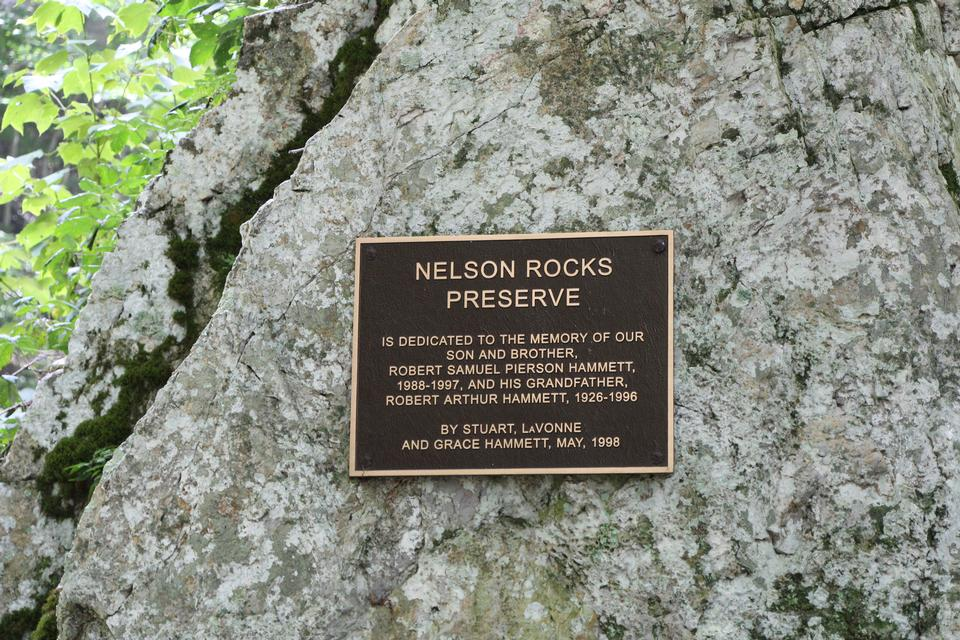 尼爾森岩保護區 - 瑟克爾維爾,WV