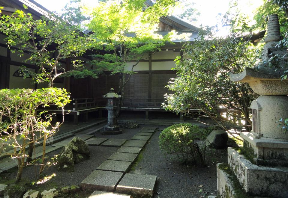 Japanisches Haus in Koishikawa Kōrakuen in Okayama