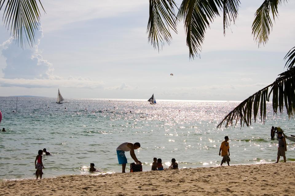 The beautiful nature of Boracay Island, Philippines