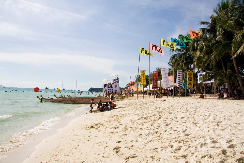 长滩岛,菲律宾美丽的大自然