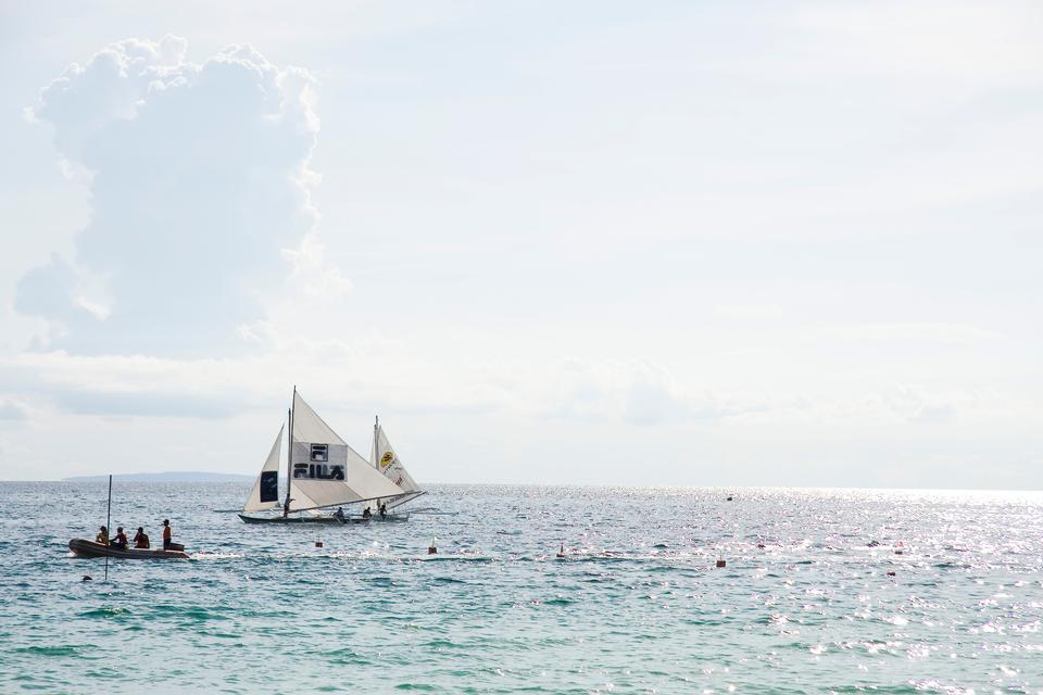 中海,長灘島,菲律賓菲律賓船