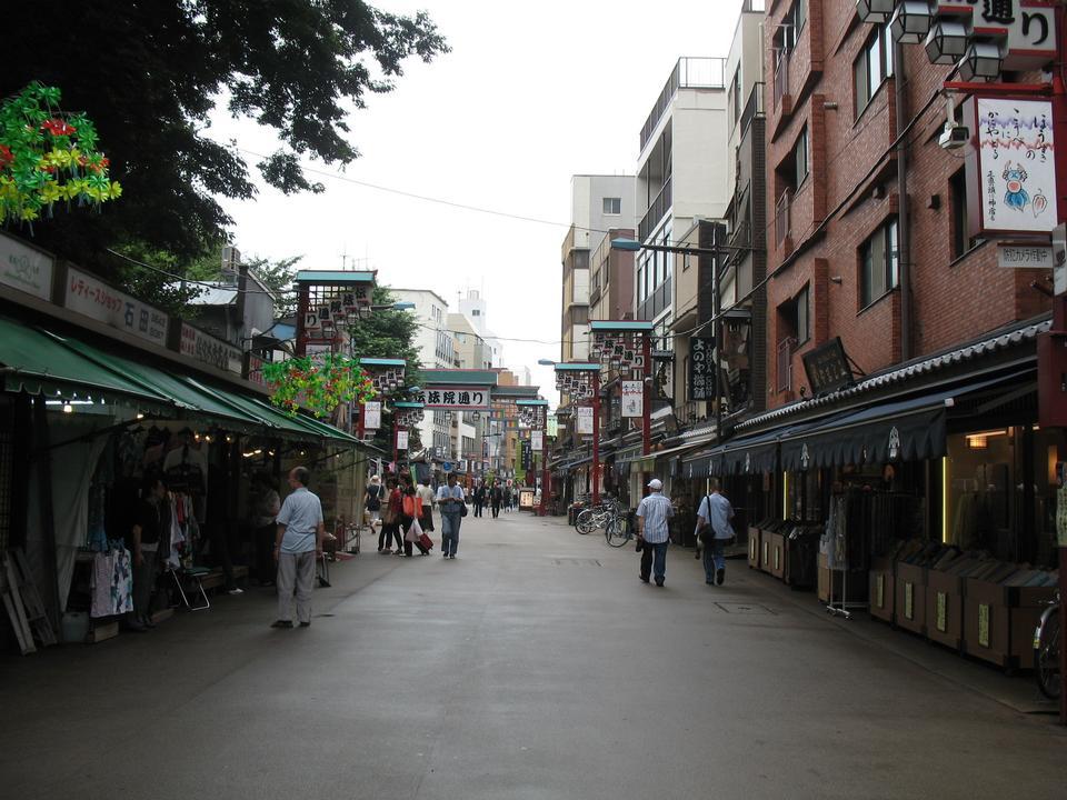 東京、日本のストリート