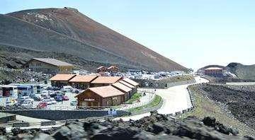 Descarga gratis la imagen de alta resolución - Refugio Sapienza Monte Etna, el volcán más alto de Europa