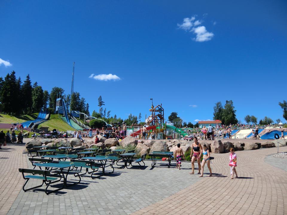 Skara Sommarland Amusement Park in Skara, Sweden