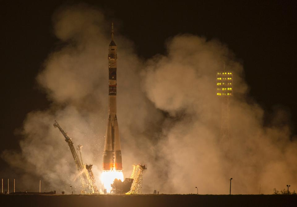 Expedition 41 Crew Launches to the International Space Station