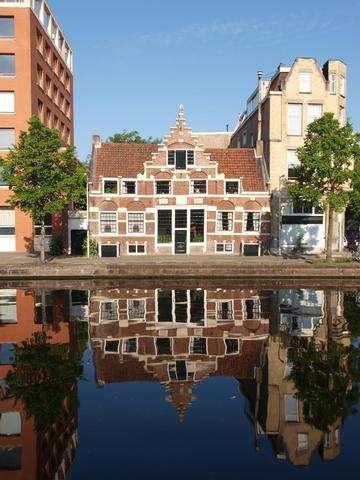 Download grátis imagem de alta resolução - Casas de Amsterdão clássicos, The Netherlands