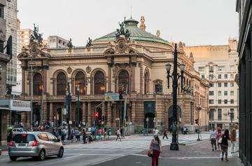 Download grátis imagem de alta resolução - Teatro Municipal de São Paulo