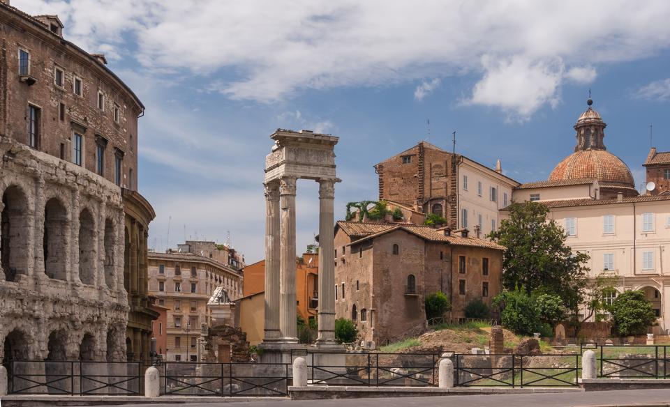 Temple of Apollo Sosianus is a Roman temple