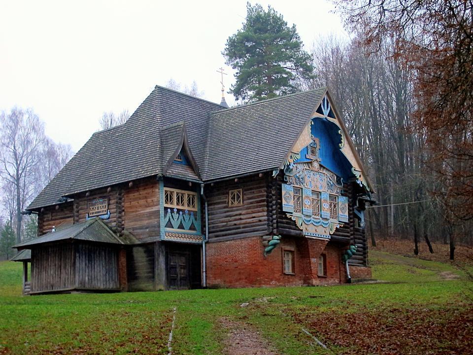 Teremok in Talashkino, Smolensk region, Russia