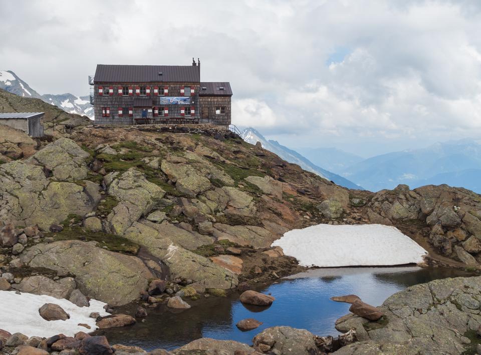 Stubai Alps panorama
