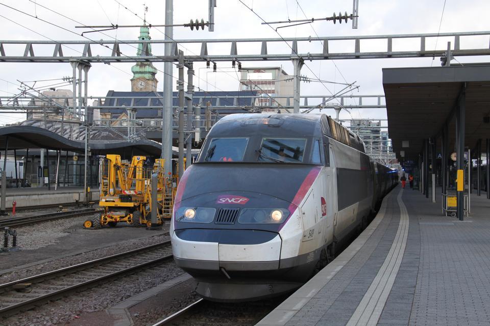 TGV high speed french train