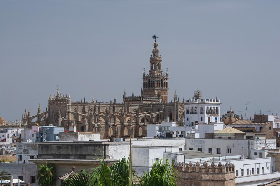 The Giralda in Seville, Andalusia, Spain