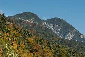 Descarga gratis la imagen de alta resolución - Stelvio Pass en los Alpes Ortler. Paisaje alpino