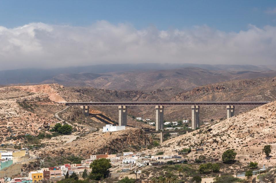 Tabernas montañas del desierto, en español Desierto de Tabernas