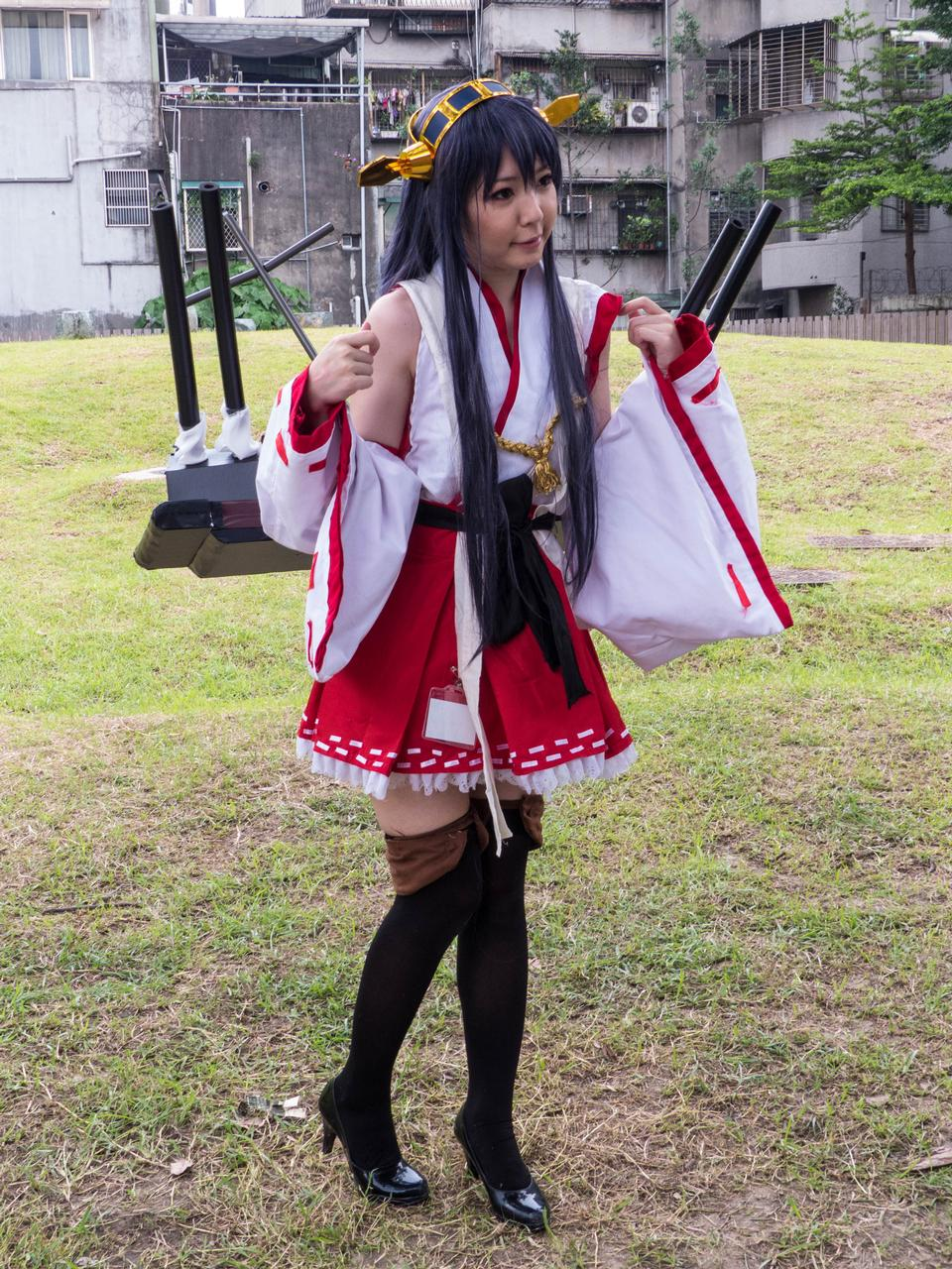 Battleship Haruna Fleet Girl Cosplayer