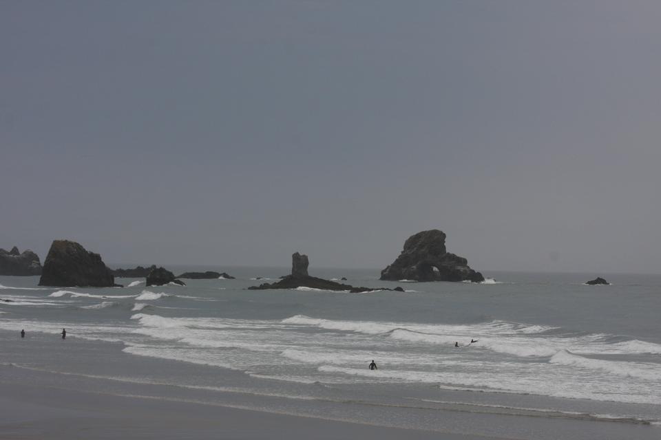 俄勒岡州海岸和太平洋