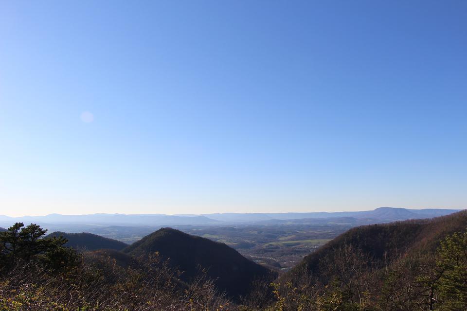 藍嶺公園弗吉尼亞景觀
