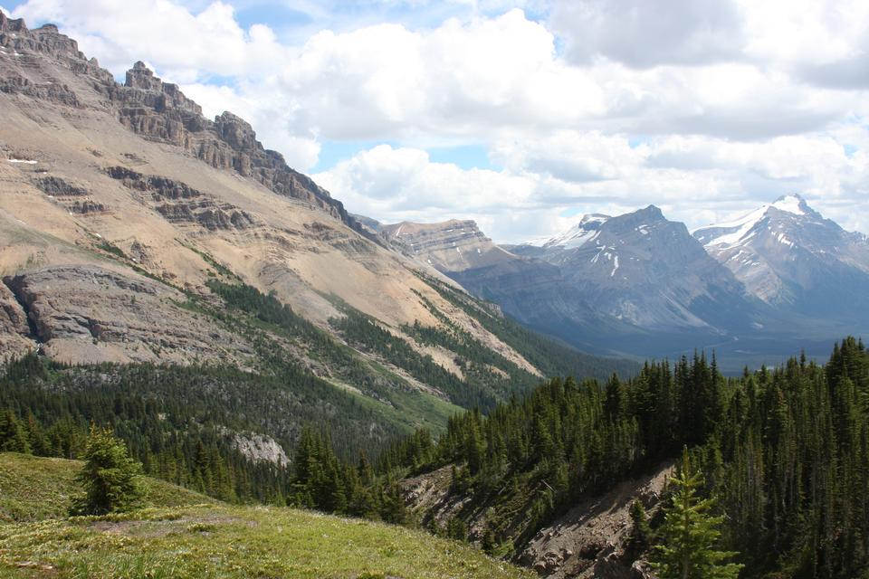 加拿大落基山脉,优鹤国家公园