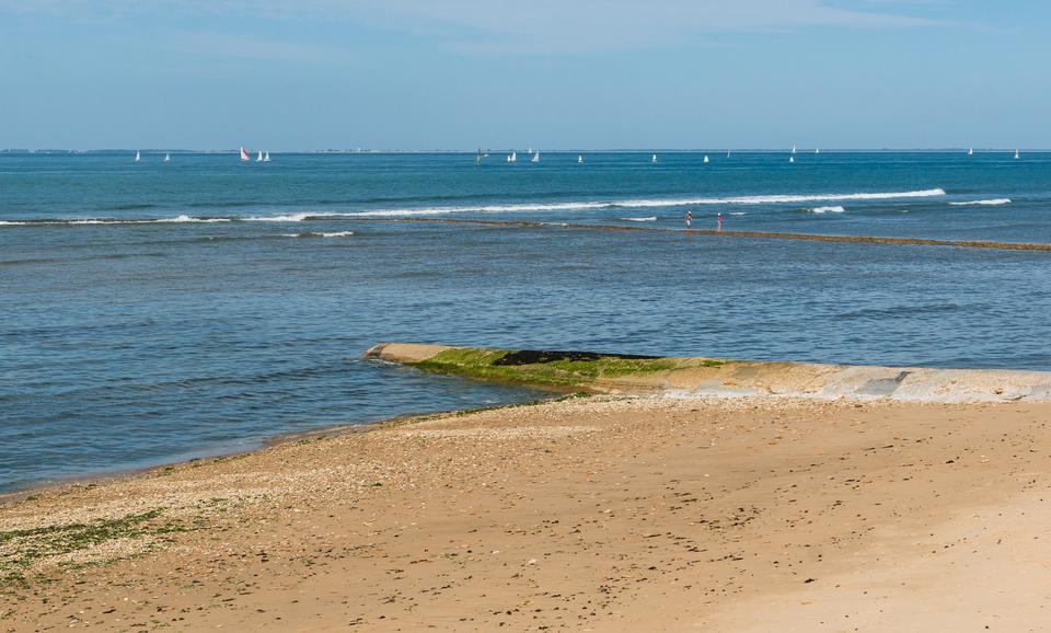 해양 해변 풍경 샤 랑트 마리 팀, 프랑스