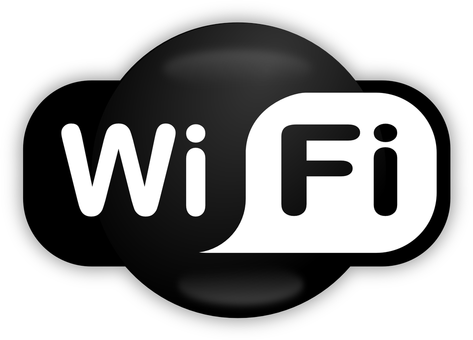 Значок WiFi на белом фоне