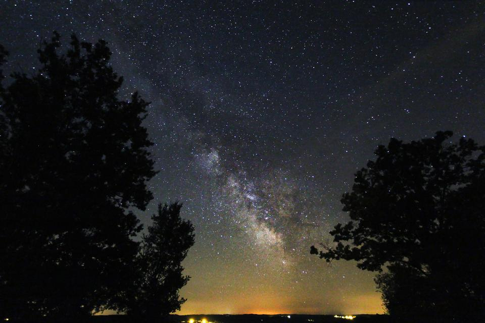 cielo astrofotografía profunda