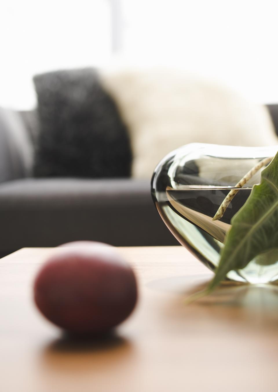 테이블에 과일