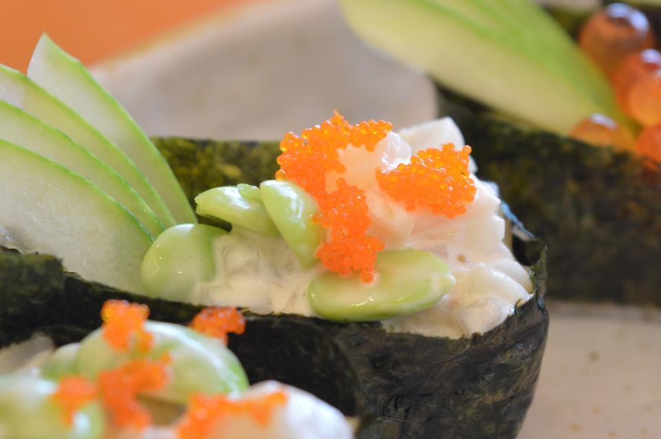 Seafood Maki Sushi