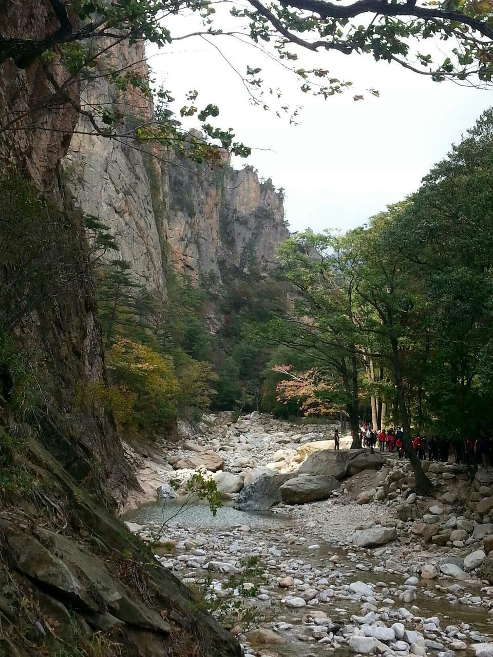 Parque Nacional de Seorak montaña, Corea del Sur