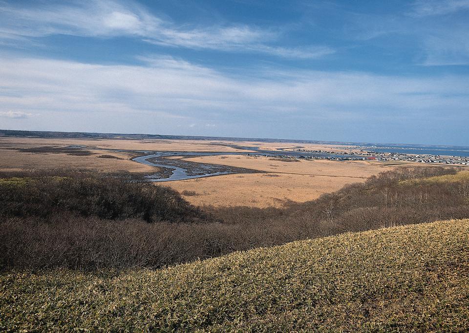 秋季景觀與農業領域