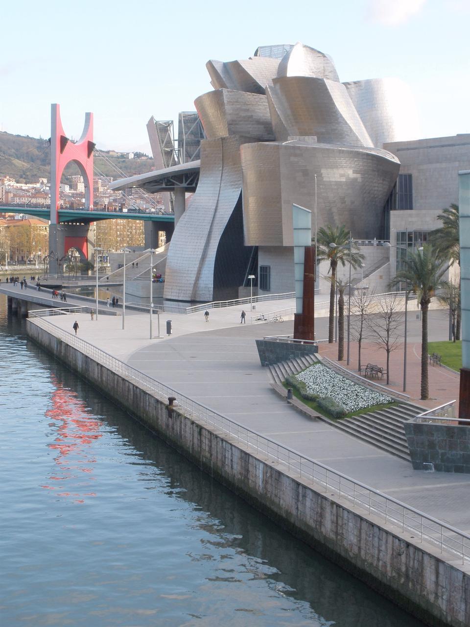 Entrance of Guggenheim Museum