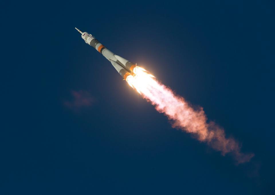 聯盟號發射到國際空間站