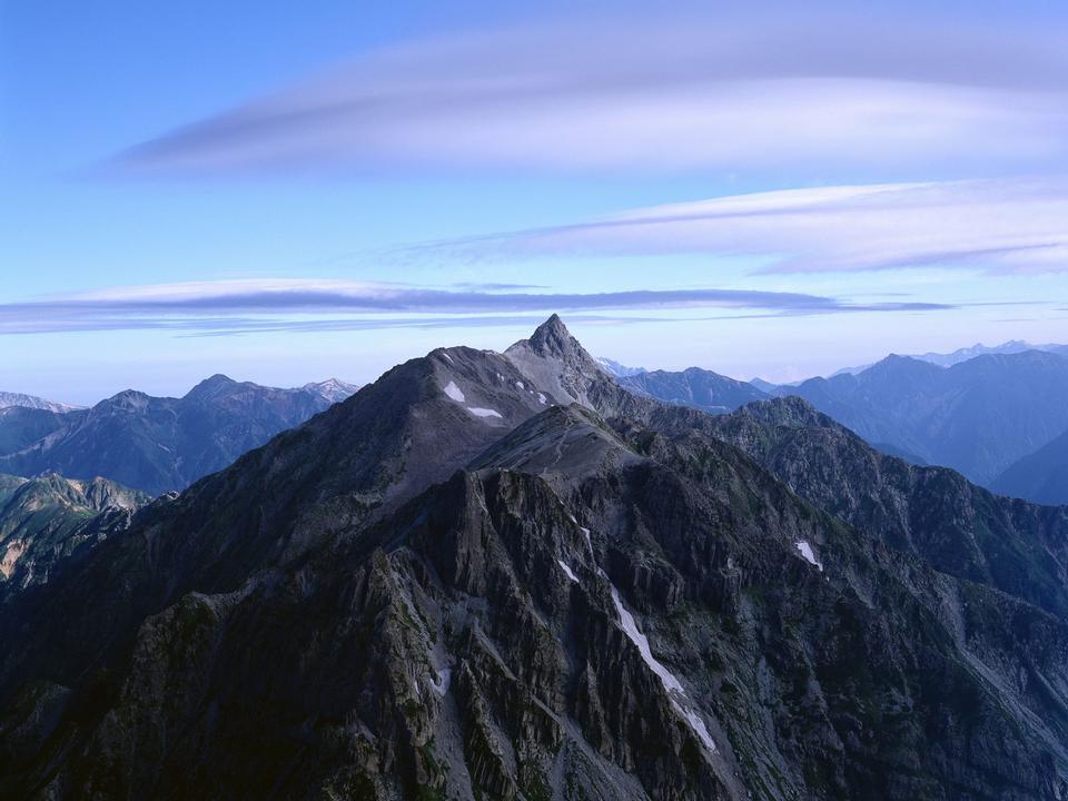 Beautiful mountain landscape. Mountains