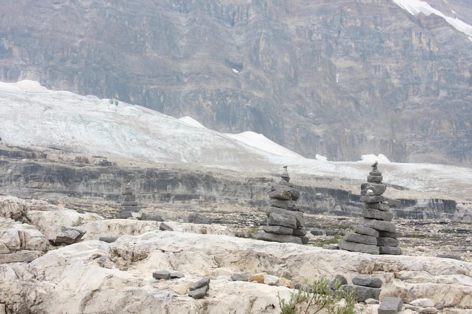 Emerald Glacier and the President Range in Yoho National Park