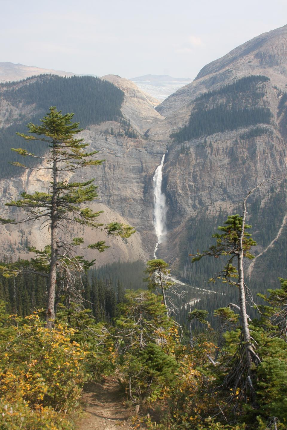 Takakkaw Falls in Yoho National Park, British Columbia